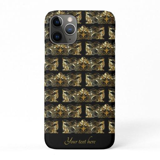 Art Deco Mermaids  iPhone 11 Pro Case