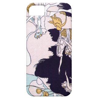 Art Deco Mermaids iPhone SE/5/5s Case