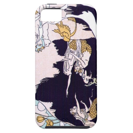 Art Deco Mermaids iPhone SE/5/5s Case