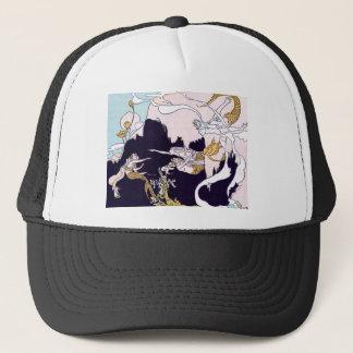 Art Deco Mermaids Trucker Hat