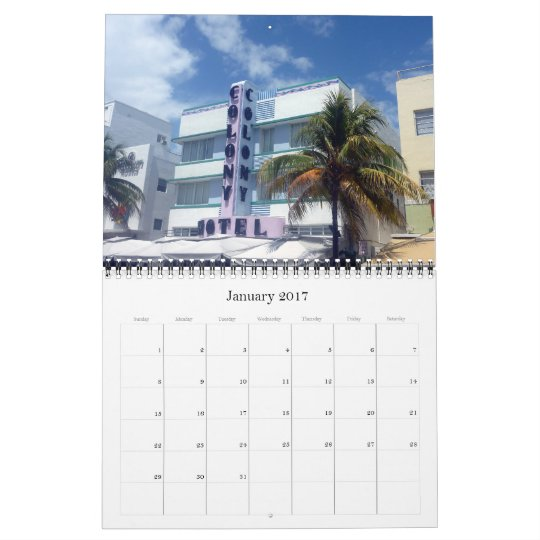 art deco miami 2013 calendar