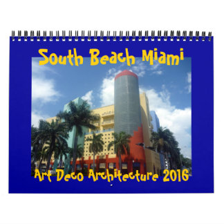 art deco miami 2016 calendar