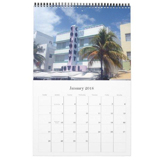 art deco miami calendar 2013