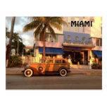 Art Deco Miami Post Card