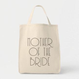 Art Deco Mother of The Bride | Wedding Tote Bag