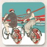 Art Deco Motorcycling Coaster
