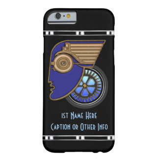 Art Deco Motorhead iP6 (Personalized) Barely There iPhone 6 Case