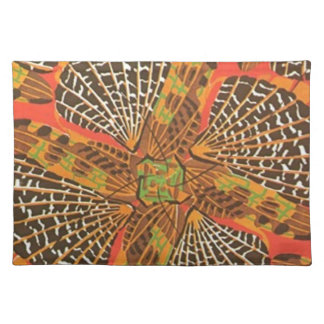 Art Deco Nature Wildlife - Insects Cloth Placemat