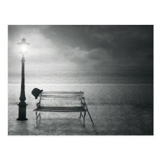Art déco negro y blanco del arte de la foto, vinta postales