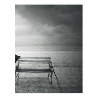 Art déco negro y blanco del arte de la foto, vinta tarjeta postal