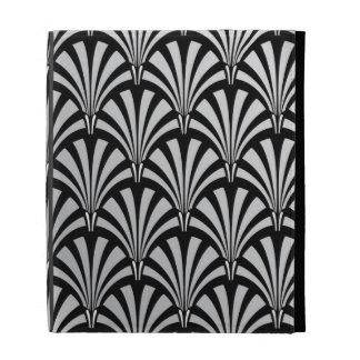 Art déco negro y de plata elegante