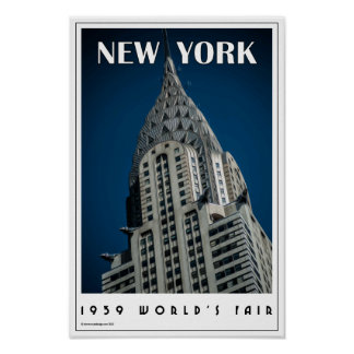 Art Deco New York Posters