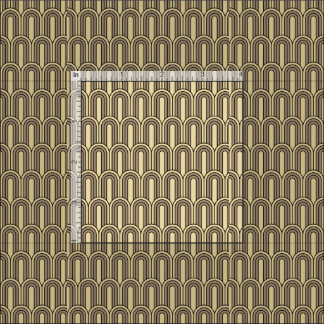 Art deco pattern fabric zazzle - Tissu ameublement art deco ...