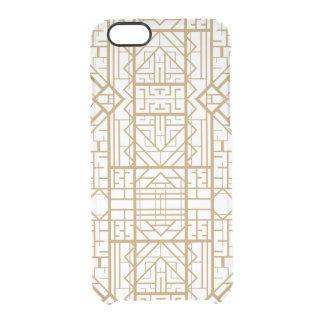 Art deco,nouveau,gold,white,chic,vintage,elegant,t uncommon clearly™ deflector iPhone 6 case