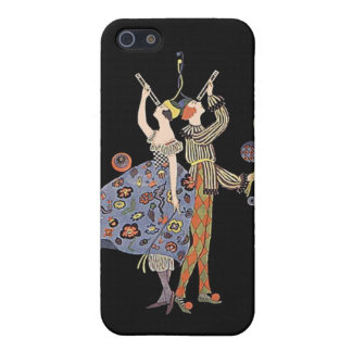 Art Deco Party Dancers Vintage WW 1 Poster Design Cover For iPhone SE/5/5s