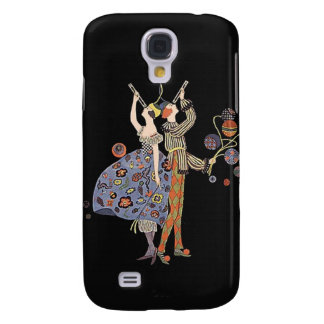 Art Deco Party Dancers Vintage WW 1 Poster Design Samsung S4 Case