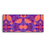 Art Deco Pattern - Bold Purple and Orange Envelope