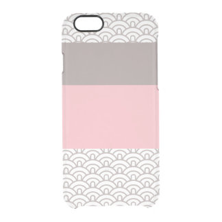Art Deco Pattern Clear iPhone Case