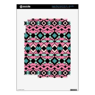 Art Deco Pattern iPad 3 Skins