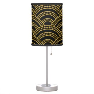 Art Deco Pattern Lamp