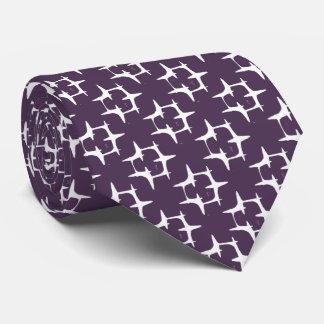 Art Deco Pattern Tie