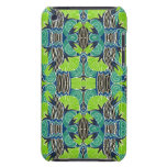 Art Deco Pattern - Tropical Greens and Blues Barely There iPod Cases