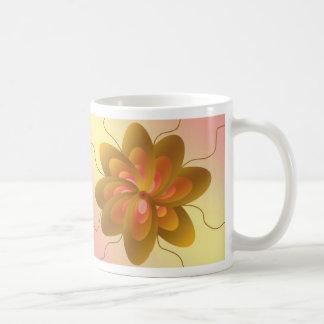 Art Deco Pinwheel Design Coffee Mug