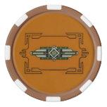 Art Deco ~ Poker chip set