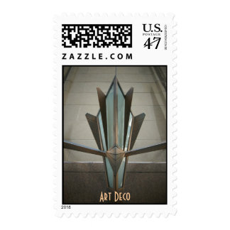 Art Deco Postage