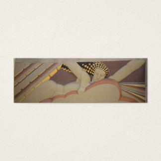Art Deco Profile Card
