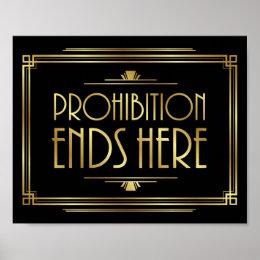 prohibition posters zazzle