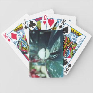 Art déco que aerodinamiza naipes baraja cartas de poker