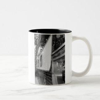 Art déco que construye la taza exterior