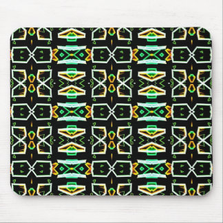 Art Deco Radio Crystals Mouse Pads