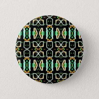 Art Deco Radio Crystals Pinback Button