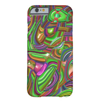 art deco, rainbow colors barely there iPhone 6 case