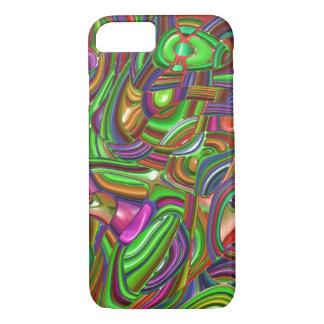 art deco, rainbow colors iPhone 7 case