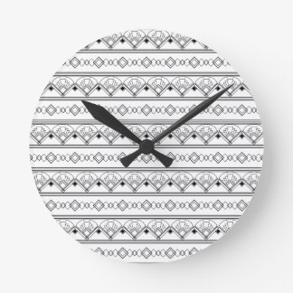 Art déco reloj redondo mediano