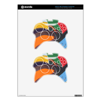 Art Deco Revival XBOX 360 Wireless Controller Skin Xbox 360 Controller Skins