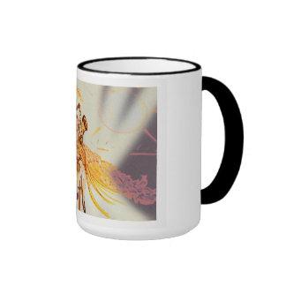 Art Deco Ringer Mug