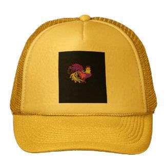 Art Deco Rooster (Jewel Tone) Trucker Hat