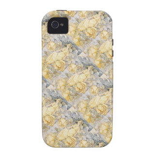 Art Deco Rose Garden Blonde Fairy Nymph iPhone 4/4S Cover
