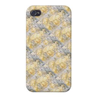 Art Deco Rose Garden Blonde Fairy Nymph iPhone 4/4S Case