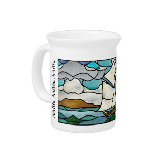 Art Deco Sailboat Pitcher
