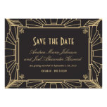 Art Deco Save the Date by Origami Prints Personalized Invitation