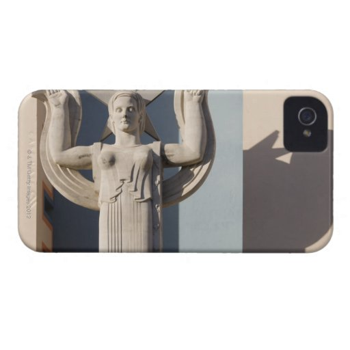 Art Deco Sculpture at the State Fair of Texas Case-Mate iPhone 4 Cases
