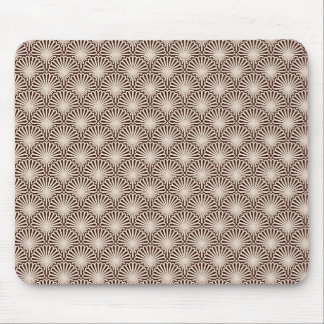Art Deco Sea Shells Mouse Pad