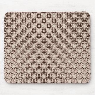 Art Deco Sea Shells Mouse Pad