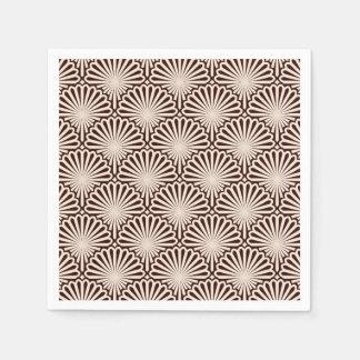 Art Deco Sea Shells Paper Napkin