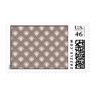Art Deco Sea Shells Stamp
